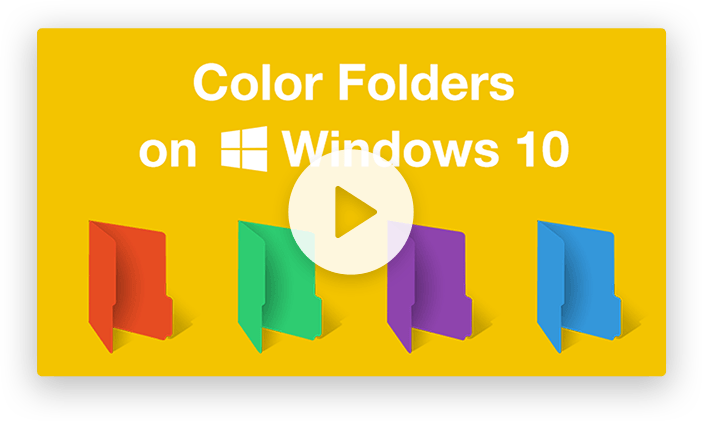 Video Tutorial: How To Use Folder Colorizer 2