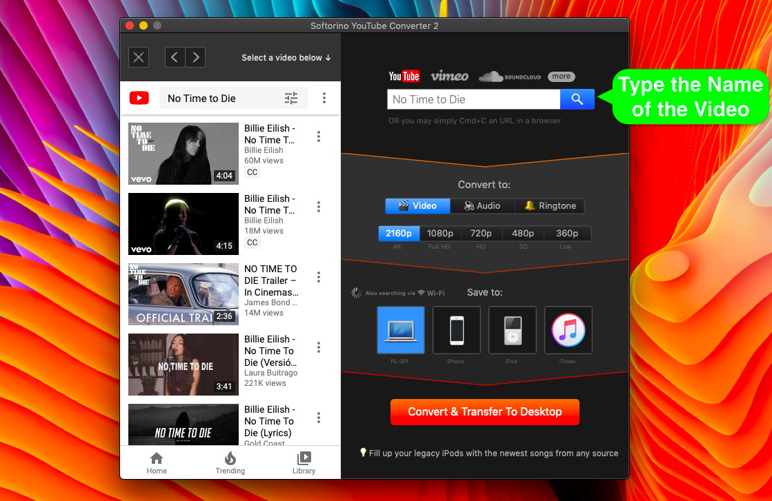 Download YT videos in laptop