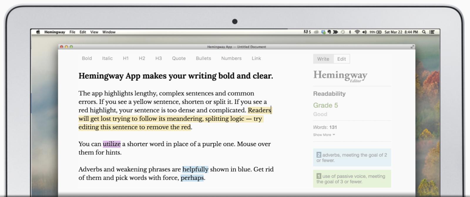 Hemingway Editor 3