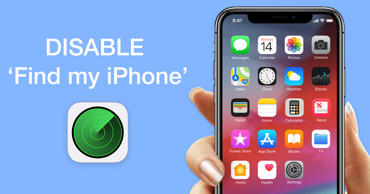 How to Disable 'Find My iPhone' | Softorino Site