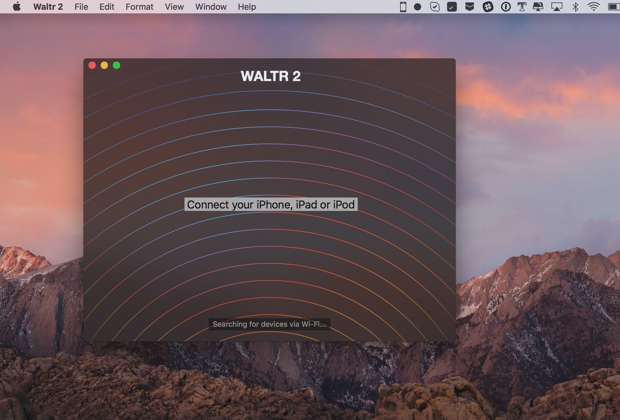 WALTR helps read ePUB on iPad