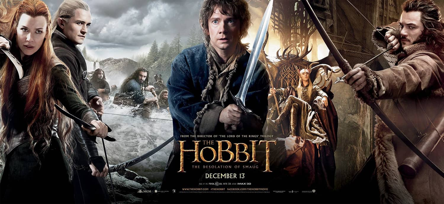 Hobbit was one of the first movies to be filmed with a high frame rate