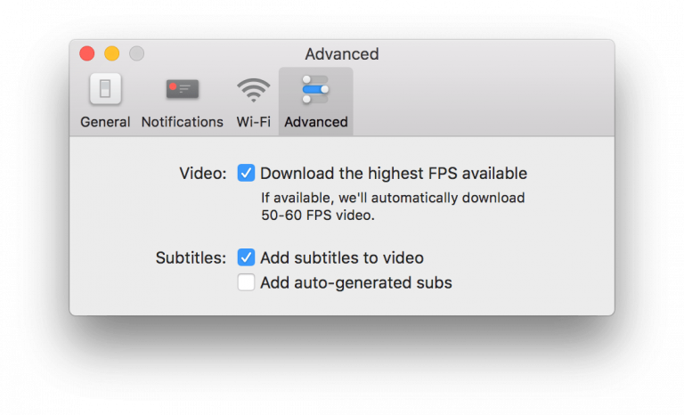 Enable 60 FPS Download inside Softorino YouTube Converter