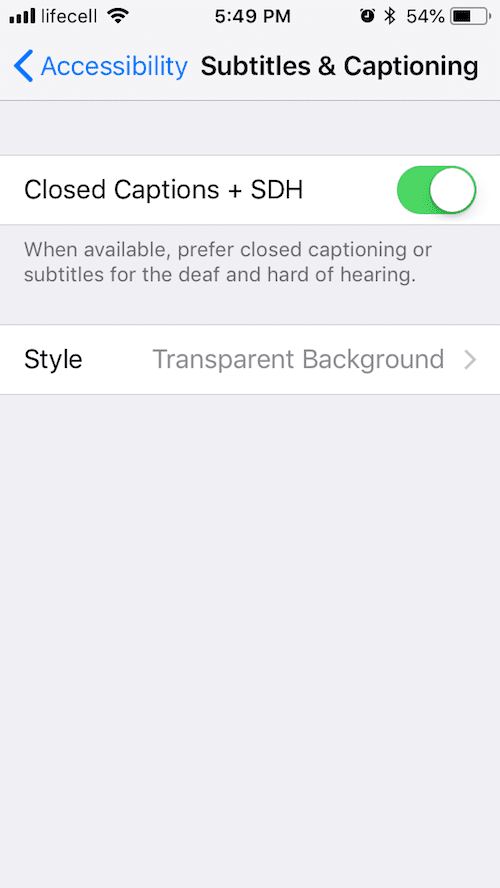 How to Enable Subtitles & captions on iPhone