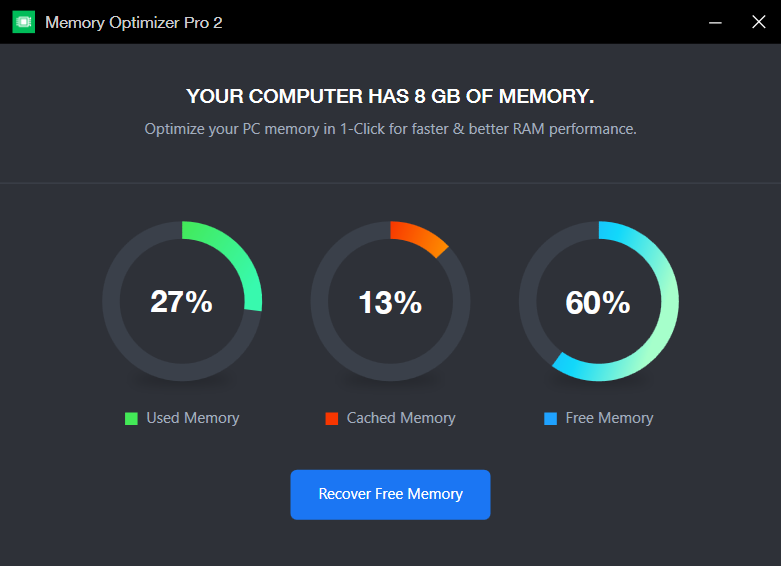 memory optimiser