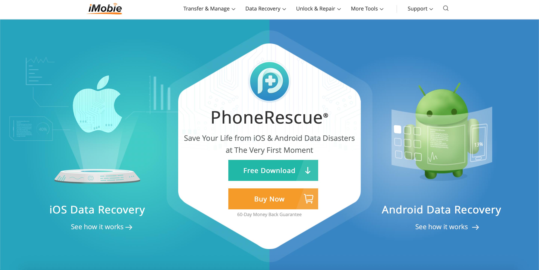 PhoneRescue from iMobie