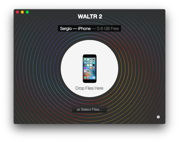 WALTR 2 will transfer M4R files to iPhone in seconds