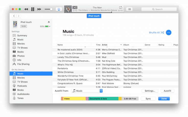 iTunes does not support FLAC