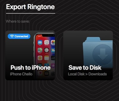 How to Set Ringtone on iPhone without GarageBand and iTunes