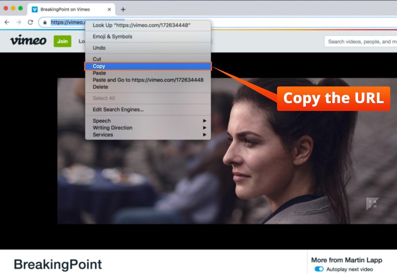 Cómo Descargar Vídeos de Vimeo a iPhone, iPad y Mac
