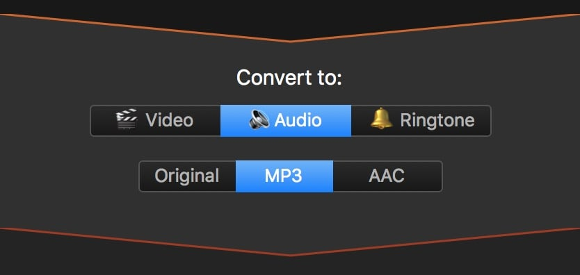 You can convert long videos even to MP3