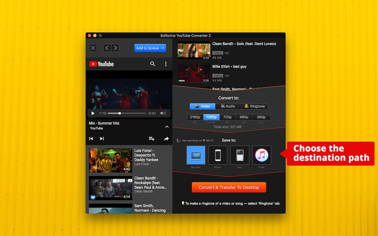SYC 2 is the fastest way to download and convert entire YouTube playlists to MP3