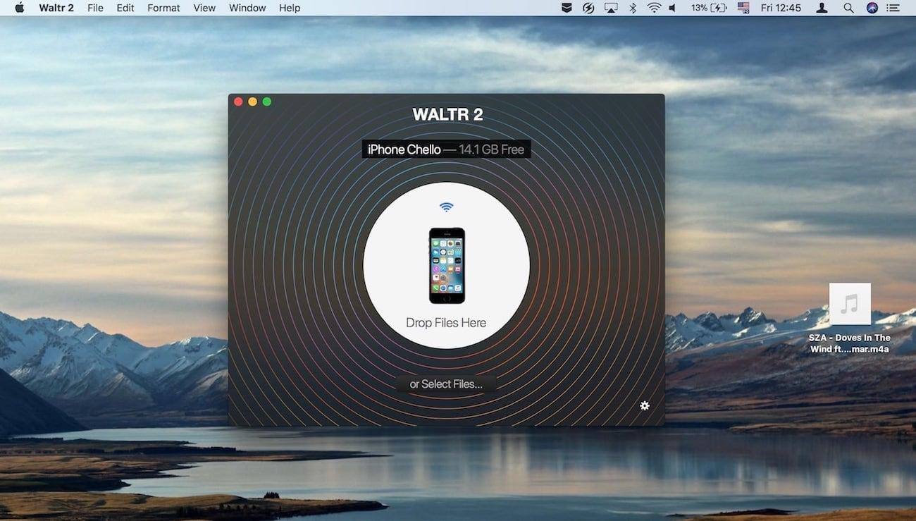 WALTR M4R pour iPhone