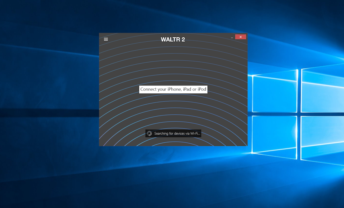 Download and install WALTR to add videos to iPad