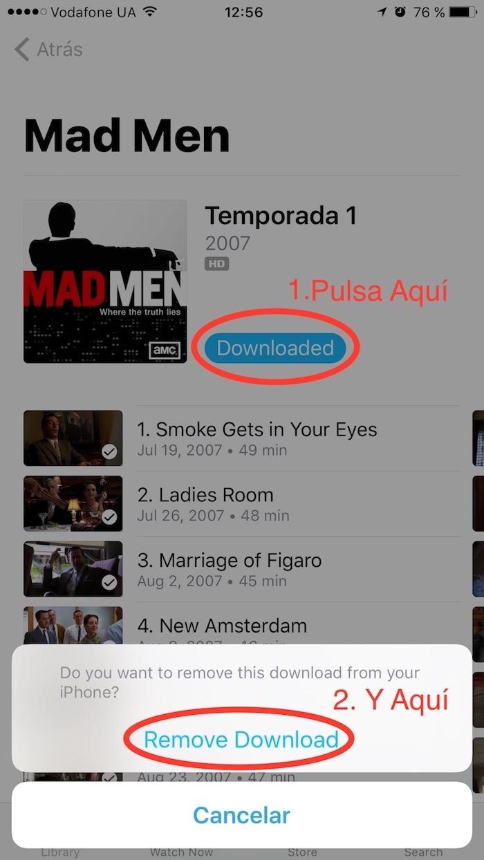 Cómo Borrar Películas Desde la App TV (iOS) de Tu iPad o iPhone