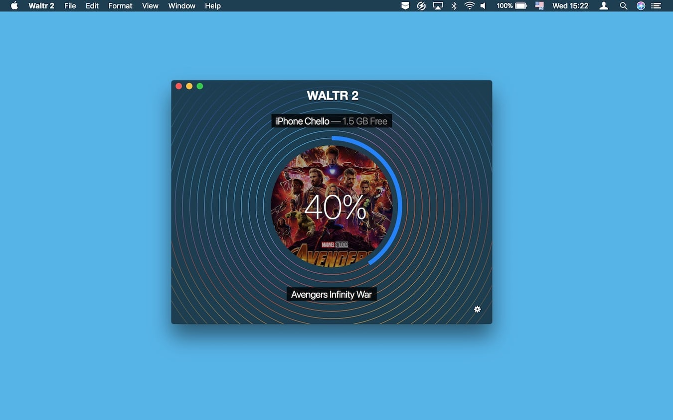 WALTR converts AVI to iPhone on-the-fly