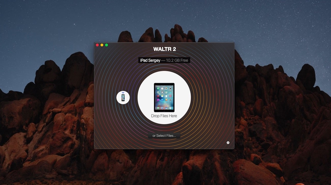 iPad connected to WALTR 2, how to convert movies for iPad - step 1