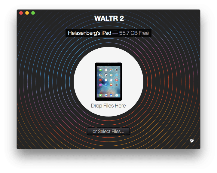 WALTR give you an option to transfer MP4 to iPad without iTunes