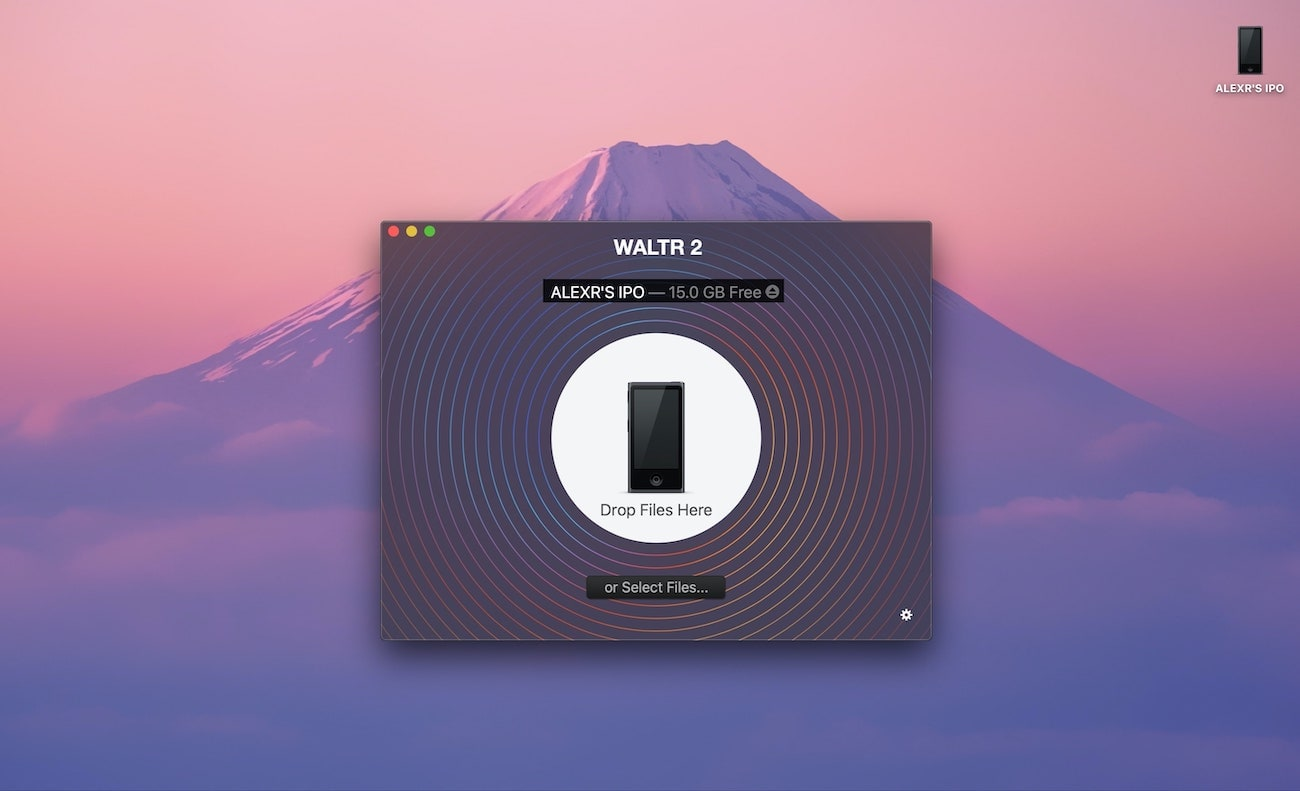 WALTR kullanarak iPod'unuza müzik ekleyin
