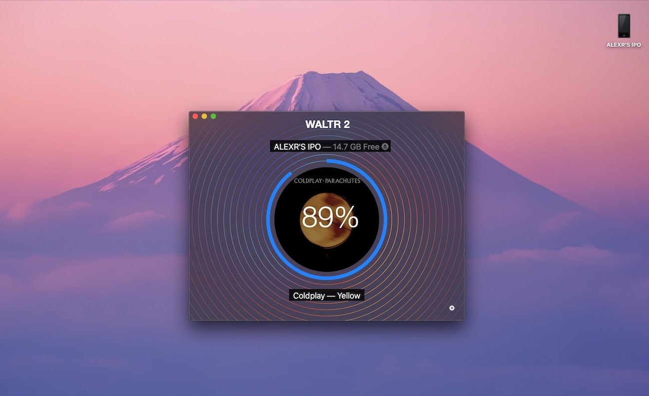 WALTR helps to add songs to iPod Classic