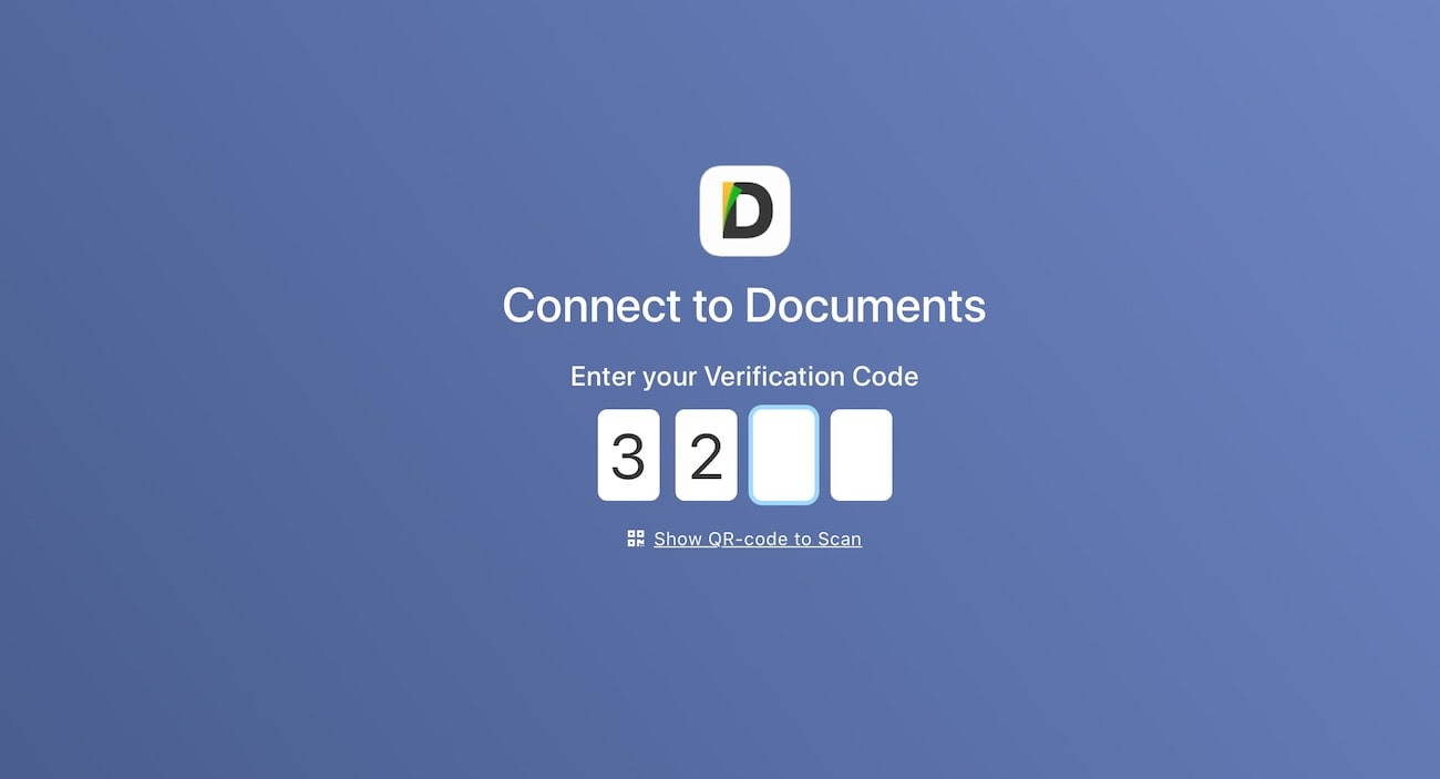 Before you connect, enter a 4-digit number
