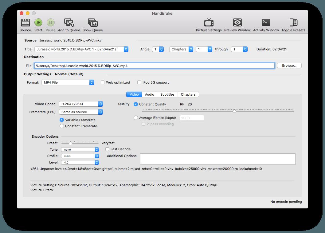 Handbrake Tutorial by Software engeneers