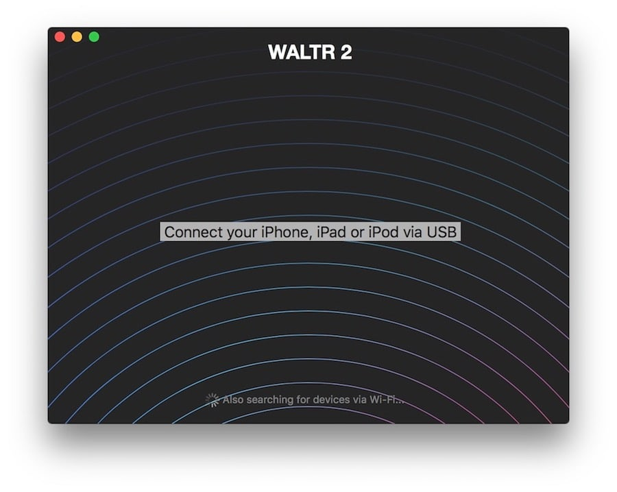 WALTR helps you add music to iPad without iTunes