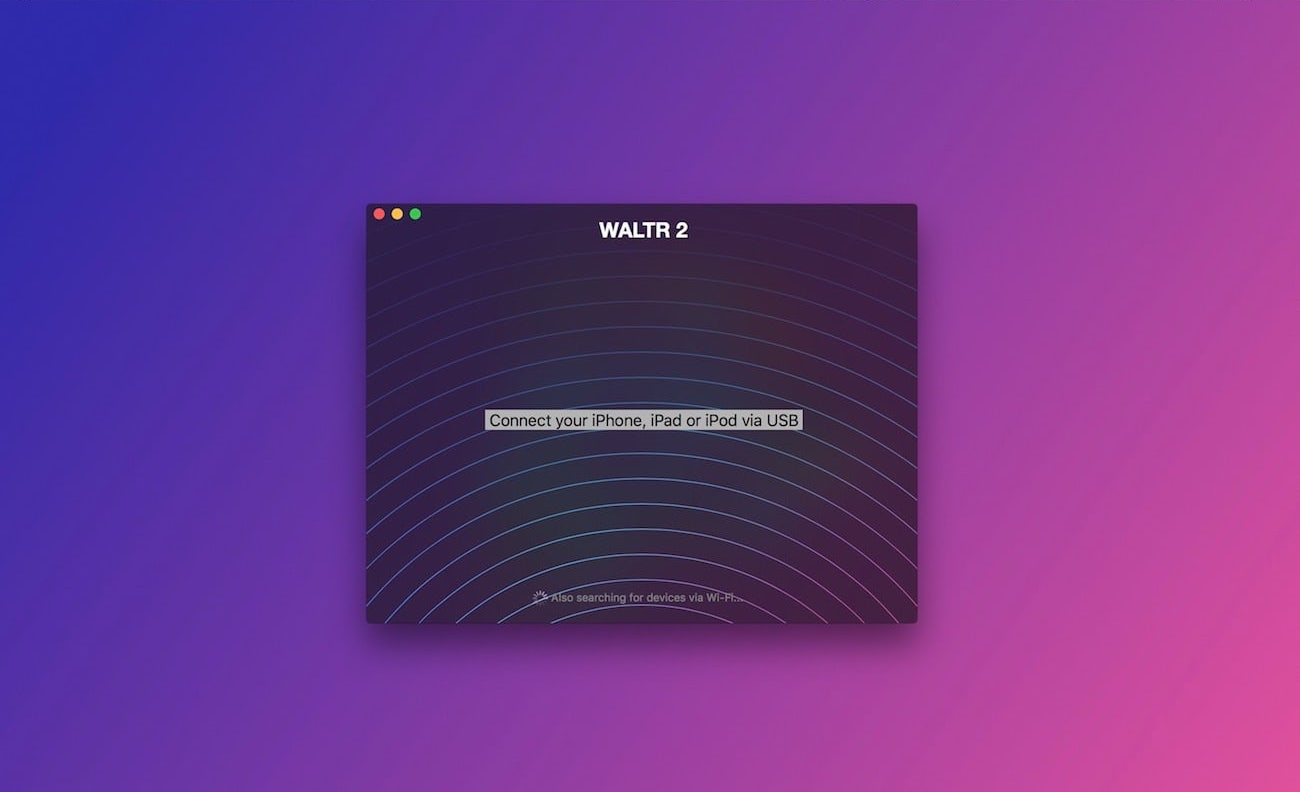 WALTR 2 will quickly connect your iPhone to a computer