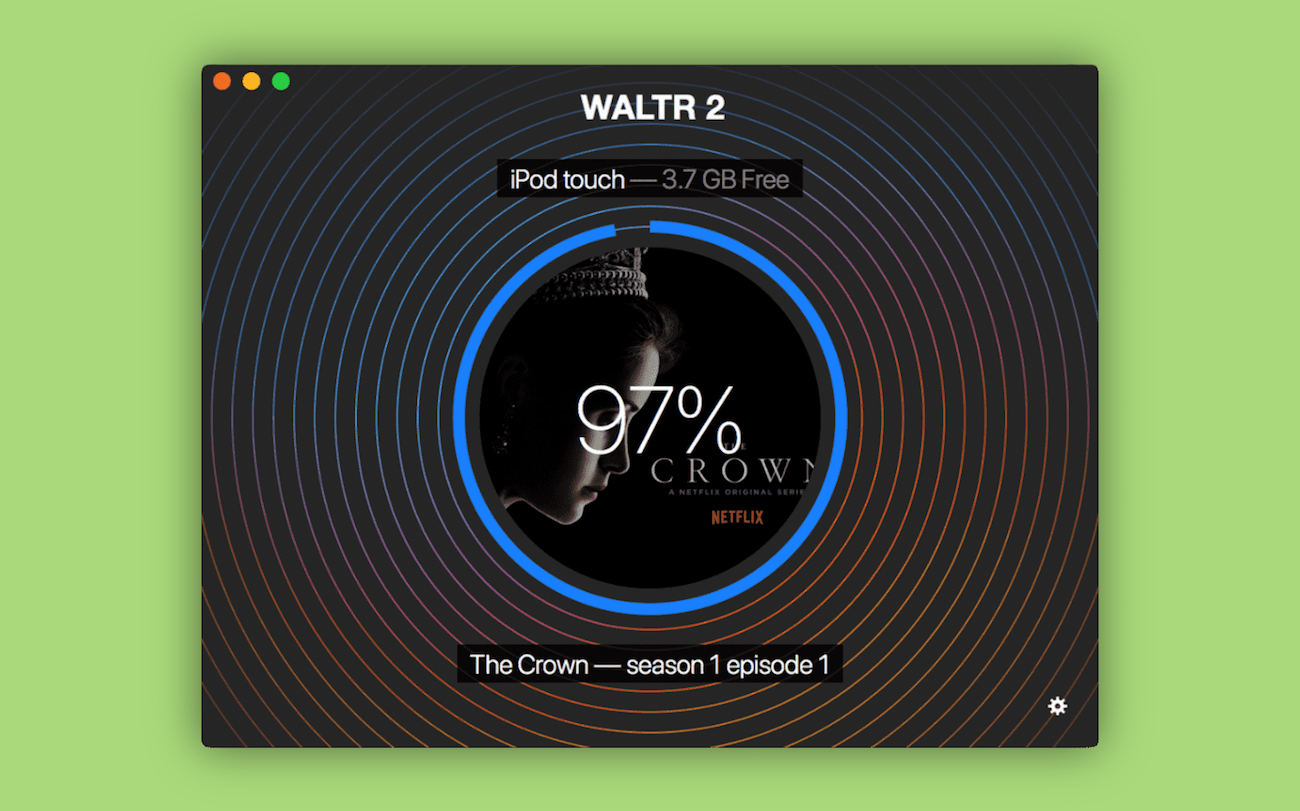 WALTR can put videos on iPhone or iPod