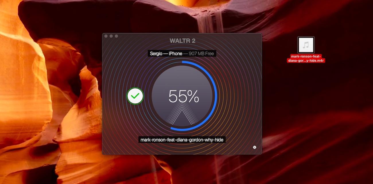 WALTR 2 поможет поставить рингтон на айфон