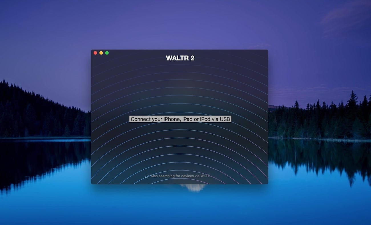 WALTR 2 will help you play WAV on iPhone