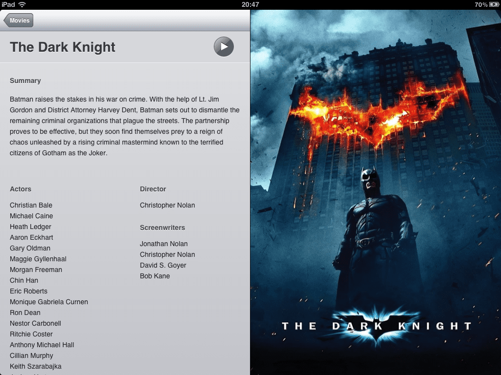 turn iPad into a digital movie viewer with WALTR