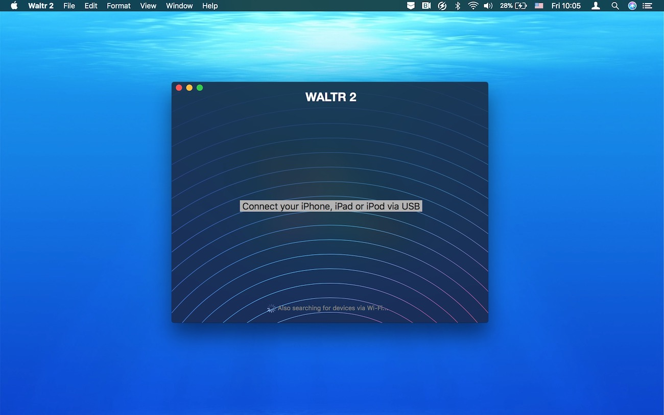 WALTR will help you play AVI on iPhone and iPad