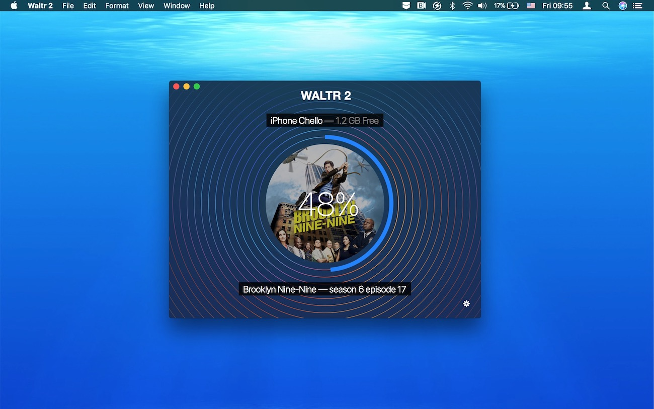 WALTR can automatically convert AVI to MP4 on iPhone or iPad