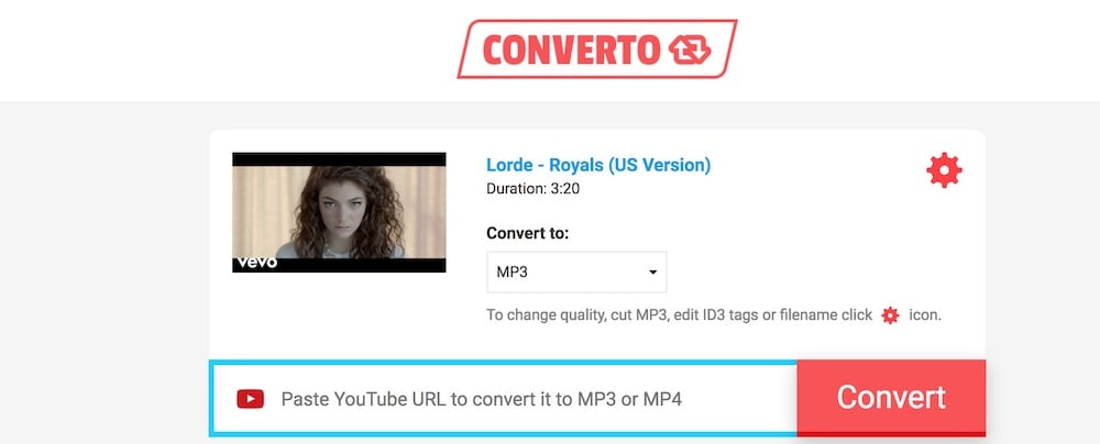 Converto YouTube Music Downloader