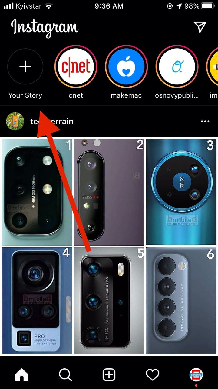Live Photos as Insta-Stories on iPhone