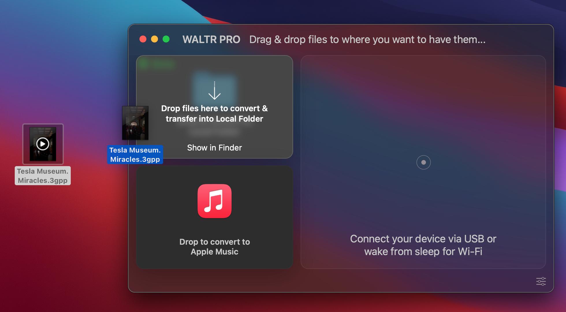 convert 3gpp files to mp4 on Mac