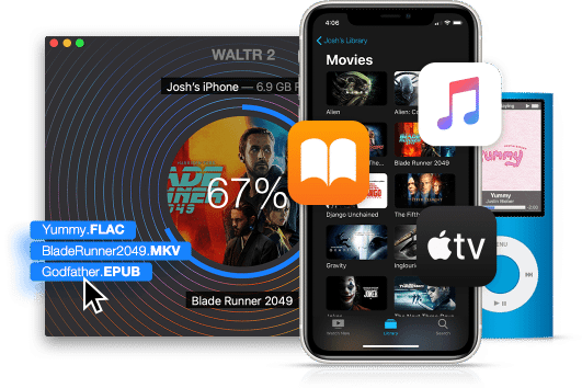 Waltr 2 Mac 破解版 优秀的iPhone数据传输工具-麦氪搜 下载